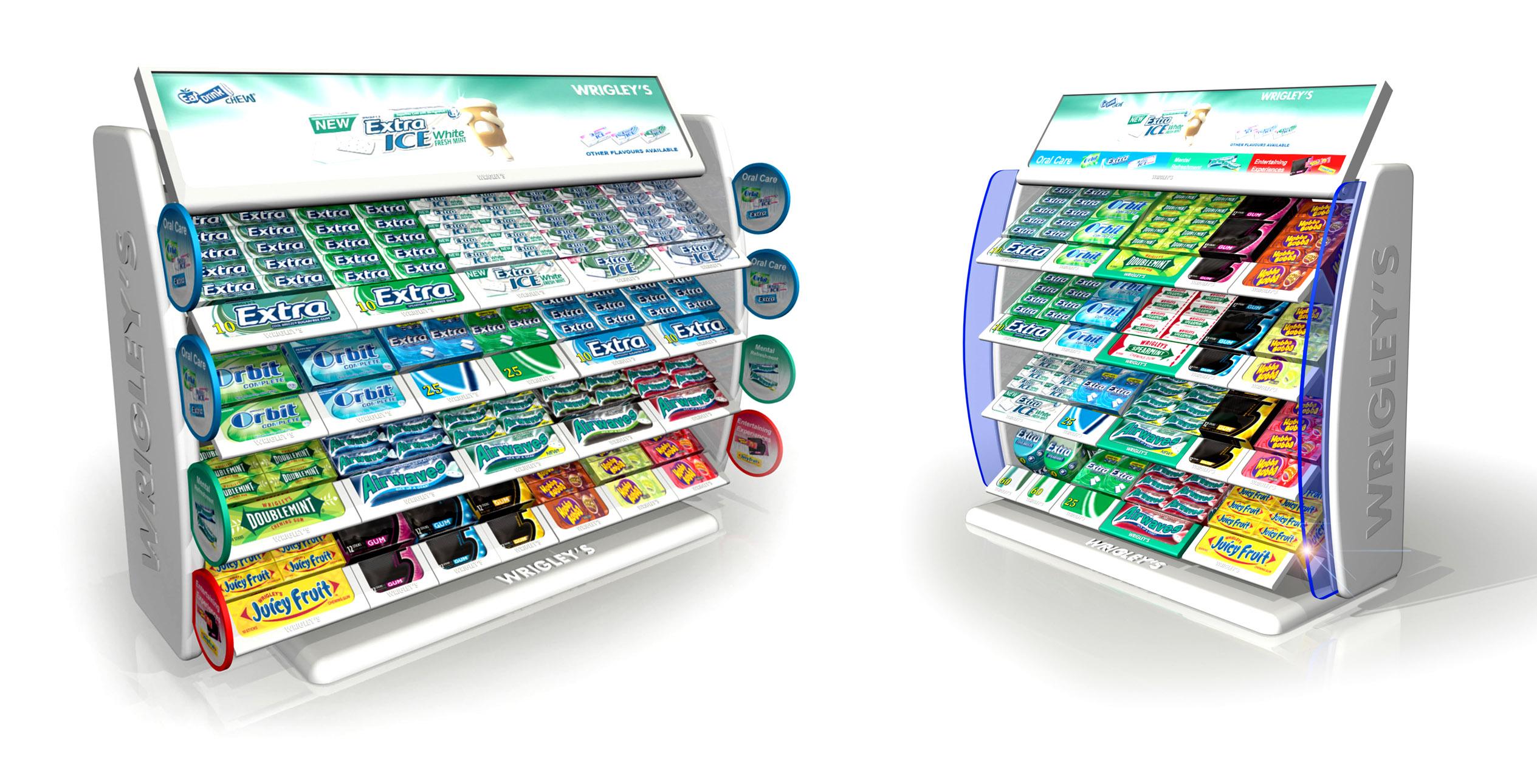 WRIGLEYS Retail Displays