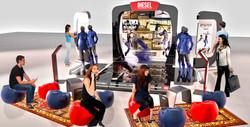 Diesel Mall Pop Up