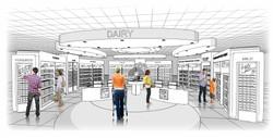 TESCO Shop in Shop Zone