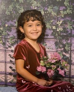 Jasmine Amabile as a kid