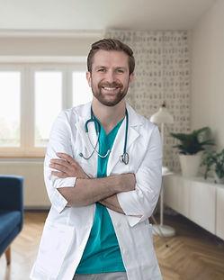Retrato de Um jovem médico
