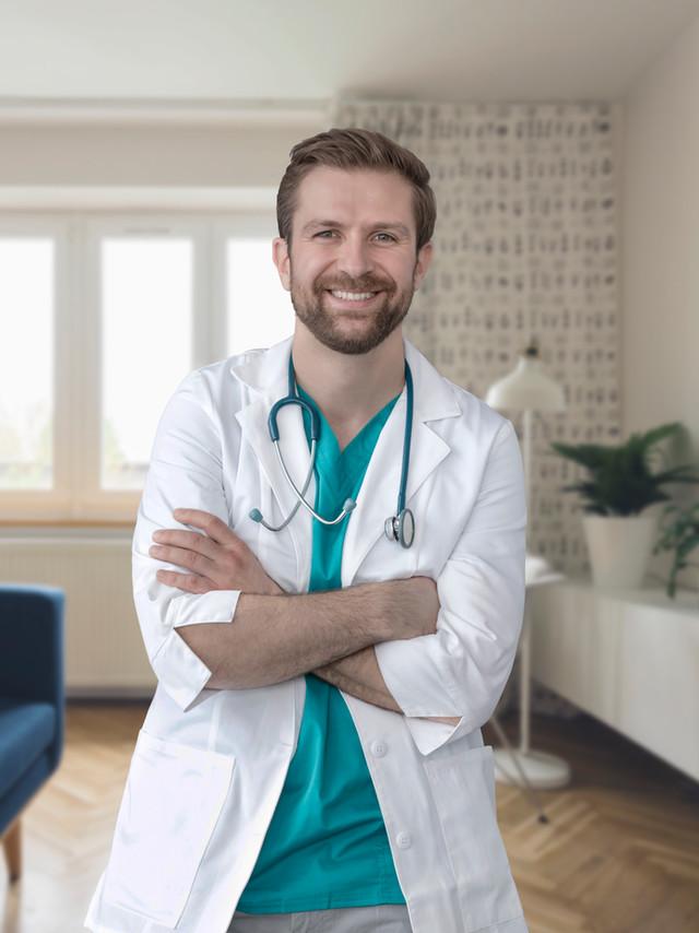 Ritratto di un giovane medico