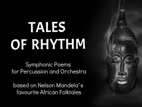 TALES OF RHYTHM: SYMPHONIC POEMS FOR PERCUSSION SOLO AND ORCHESTRA