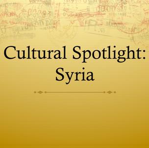 Cultural Spotlight - Syria.png