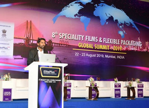 Suhas Dixit's Address at 8th Flexible Packaging Global Summit-2019