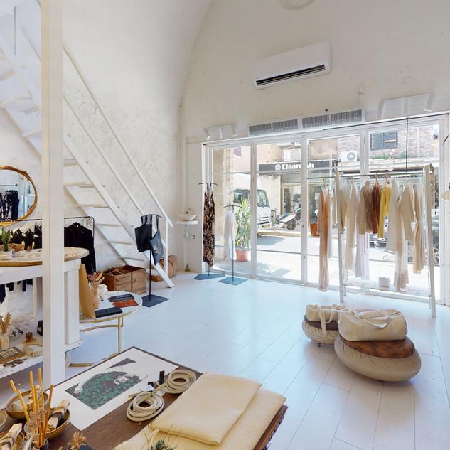 חנות בגדים מצולמת ב360
