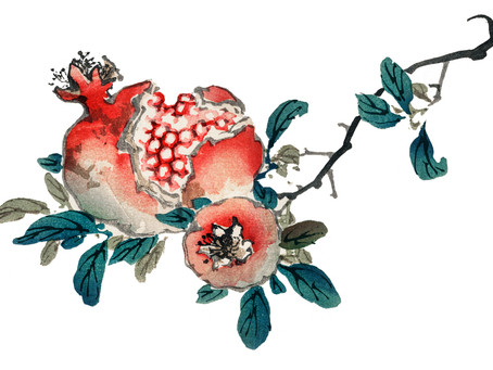 Rosh Hashanah, Pomegranates and A Sweet and Pleasant Year.