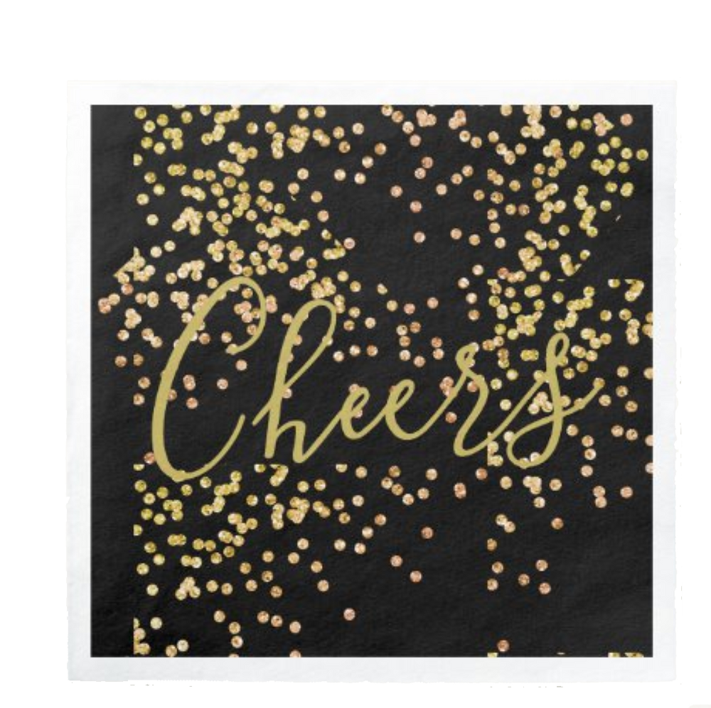 new years eve party paper napkins new years celebration serviettes cheers