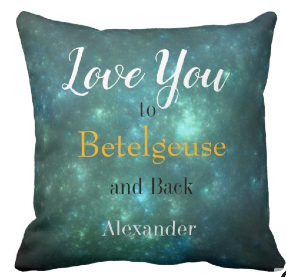 I love you  with different sentiment Throw Pillow
