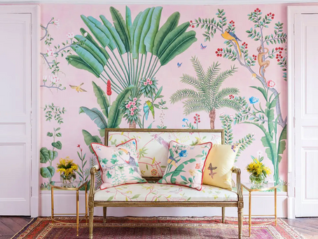 Colorful and Exuberant Chinoiserie