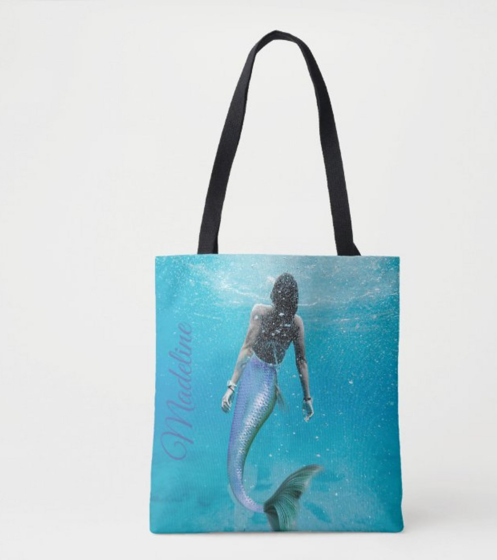 mermaid themed  custom gifts posters tote bags home decor stationary  zazzle