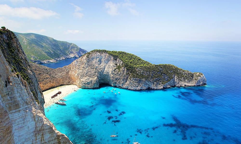 zakynthos greece beach