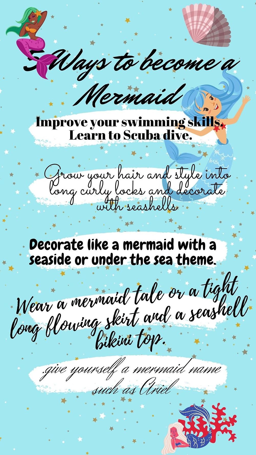how to be a mermaid cute mermaid custom gifts and products