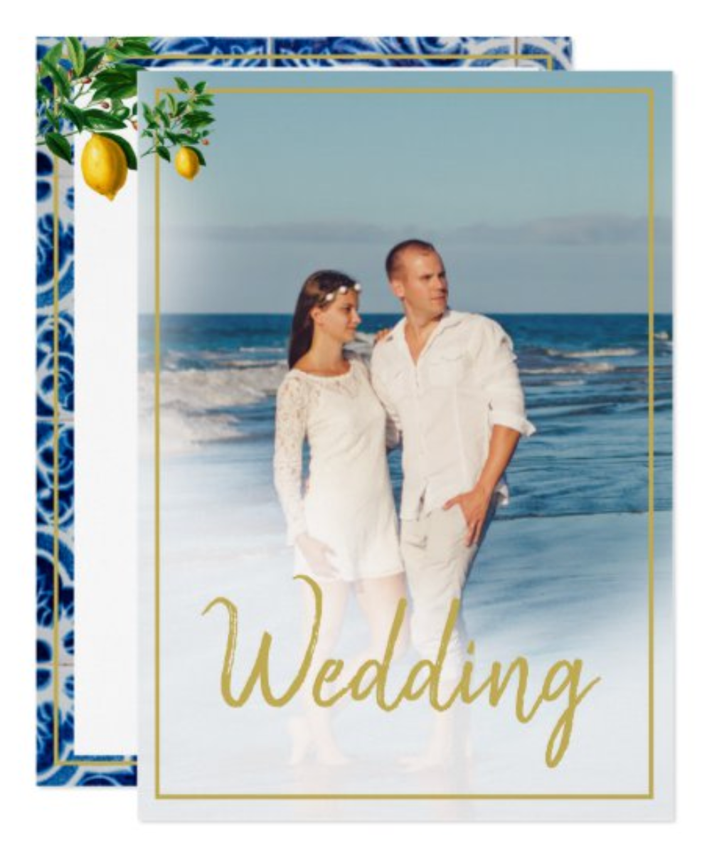 beach outdoor sustainable custom wedding zazzle made