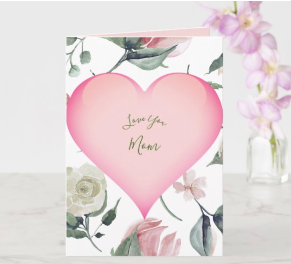 mothers day personal greeting card zazzle made