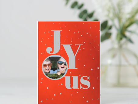 Joy at Christmas : (despite this crazy year )