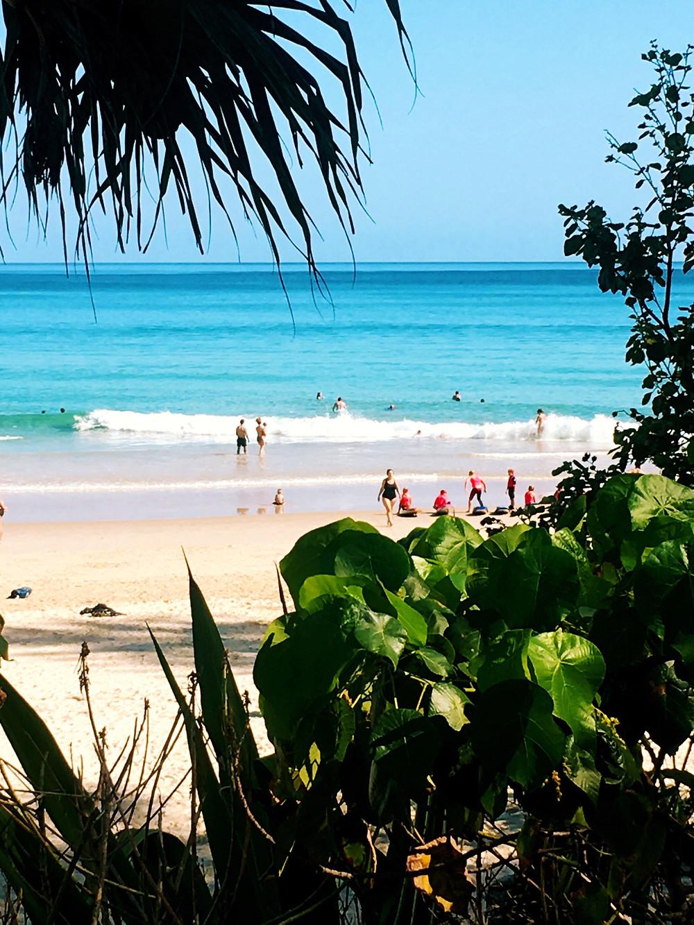 custom Invitations personal products beach scenes  Noosa Heads beach scene