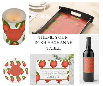 5 ideas for rosh hashanah custom  table decor jewish new year pomegranate design