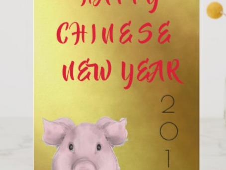 Chinese New Year --Year of the Pig