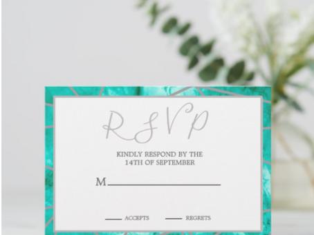 RSVP :  répondez s'il vous plait A Custom Invitation Necessity or Nicety?