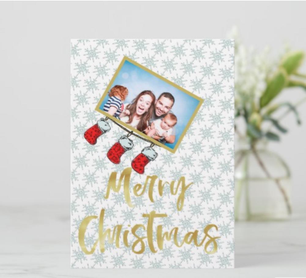 custom christmas cards funny christmas  family photo