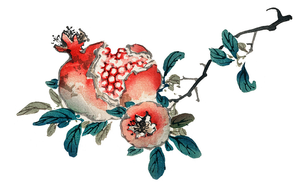 rosh Hashanah pomegranate for jewish new year custom products