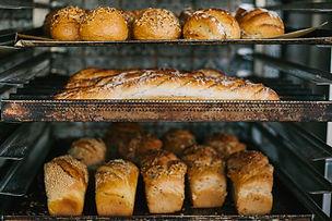 Kopie van A lot of ready-made fresh brea