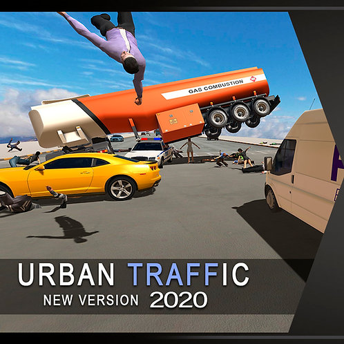 Urban Traffic System Full Pack (For Unity)