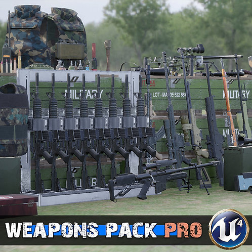 Weapons Pack Pro UE4