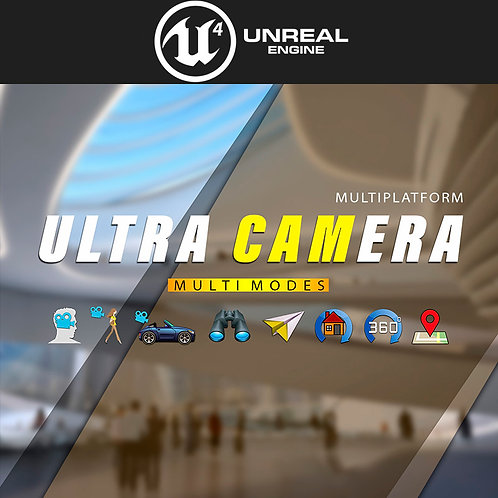 Ultra Camera Full Version (For UE4)