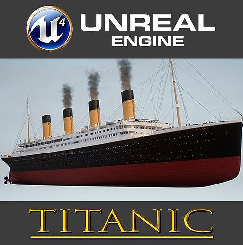 Titanic Low Poly