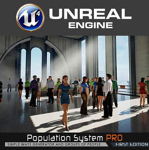 Population System (For UE4 v4.21)