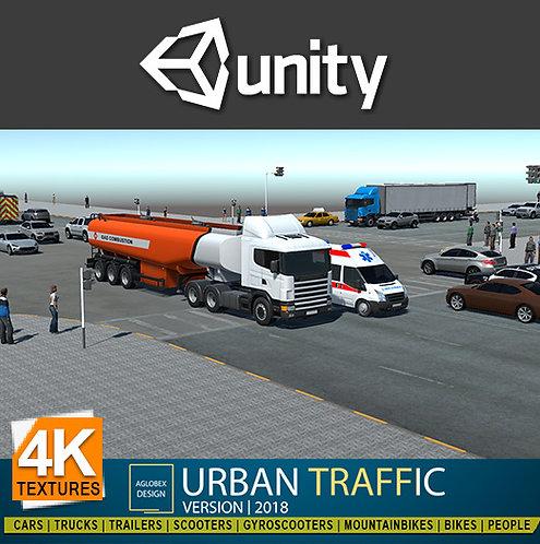 Urban Traffic System 2018.4 (For Unity)