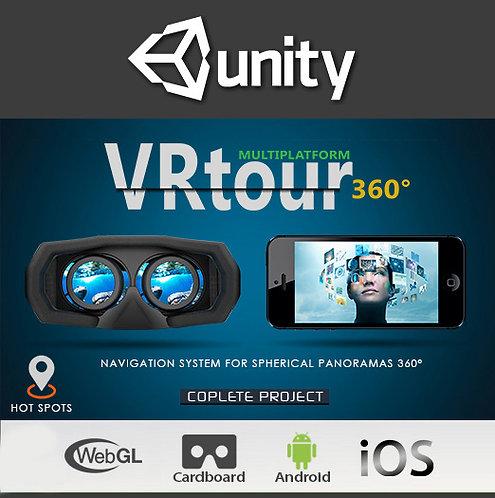 VR Tour 360 (For Unity 2018)