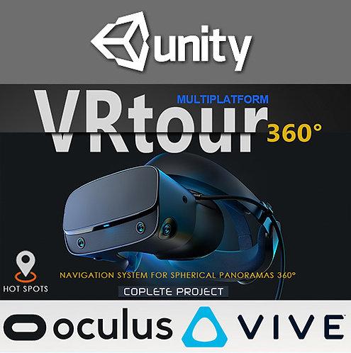 VR Tour 360 (For Unity 2019)