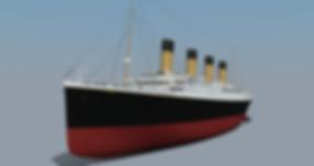 Titanic 3d model