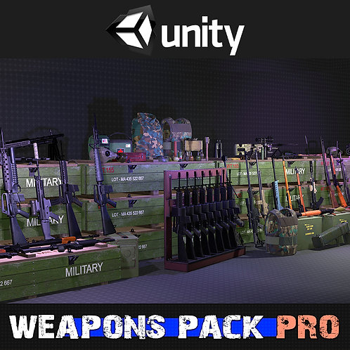 Weapons Pack Pro for Unity