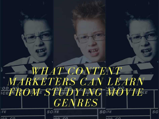 What Content Marketers Can Learn from Studying Movie Genres