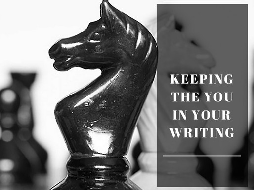 Essential Tips For Keeping The You In Your Writing