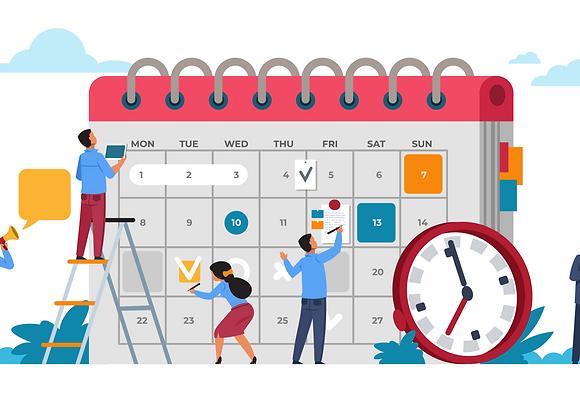 Blogging Calendar and Writing