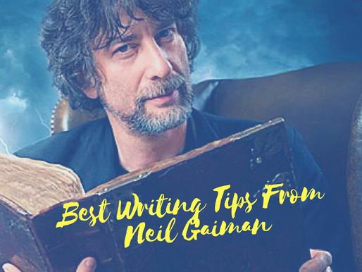 10 Best Writing Tips From Neil Gaiman