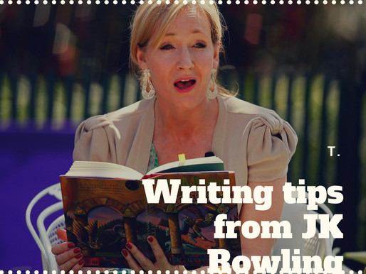 Get Your Writing Tips from Harry Potter's Creator