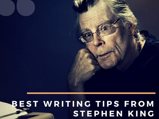 10 Best Writing Tips From Stephen King