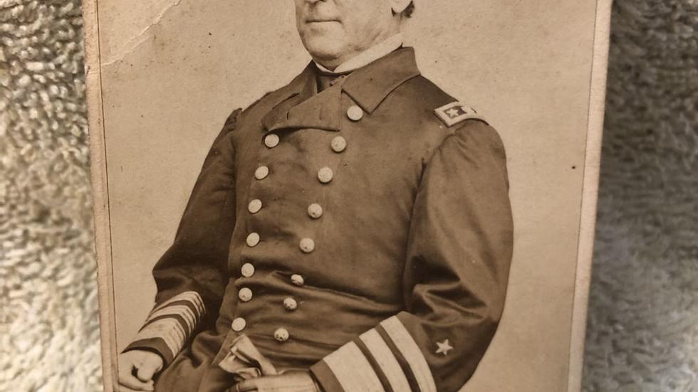 Original admiral Farragut cdv