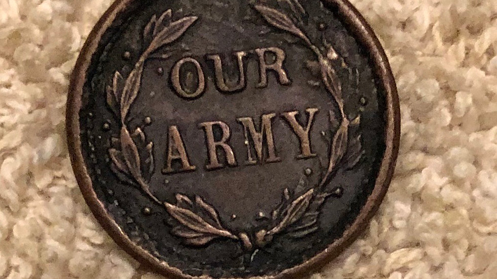 Civil War Patriotic token
