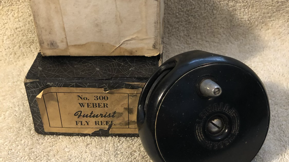 Weber Futurist fly reel in the box
