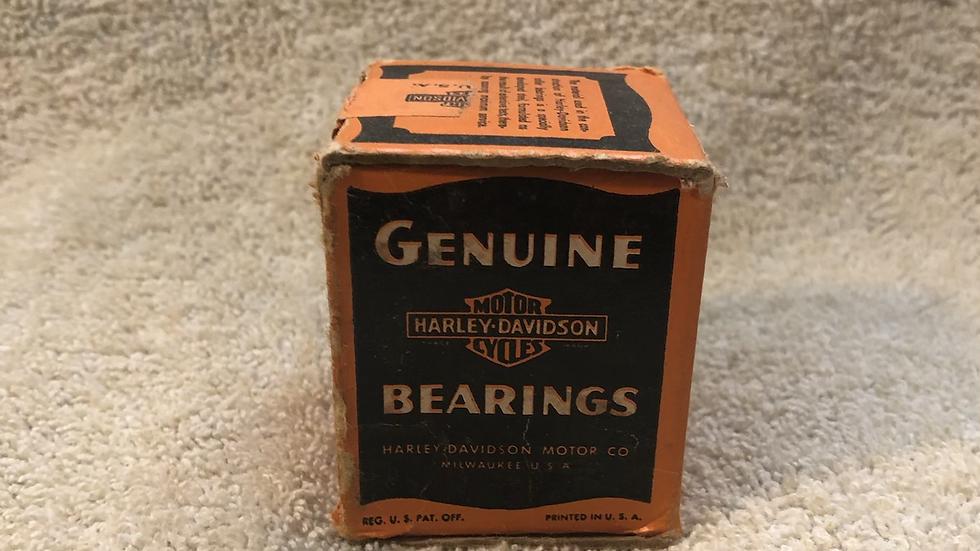 WW2 Harley Davidson bearings never opened great Advertising