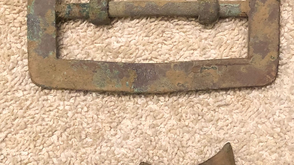 Confederate Carbine Sling buckle - this is the thick one