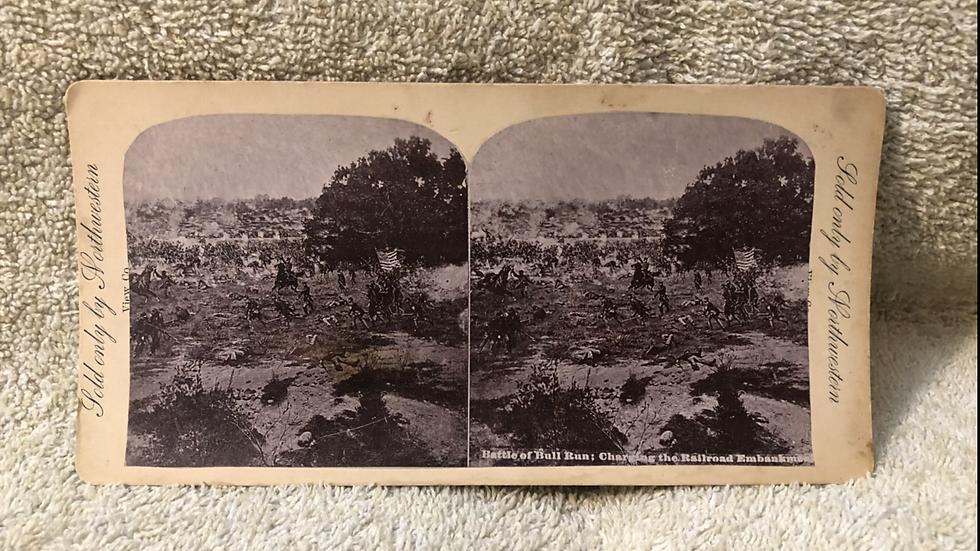 Original Bull Run Stereoview