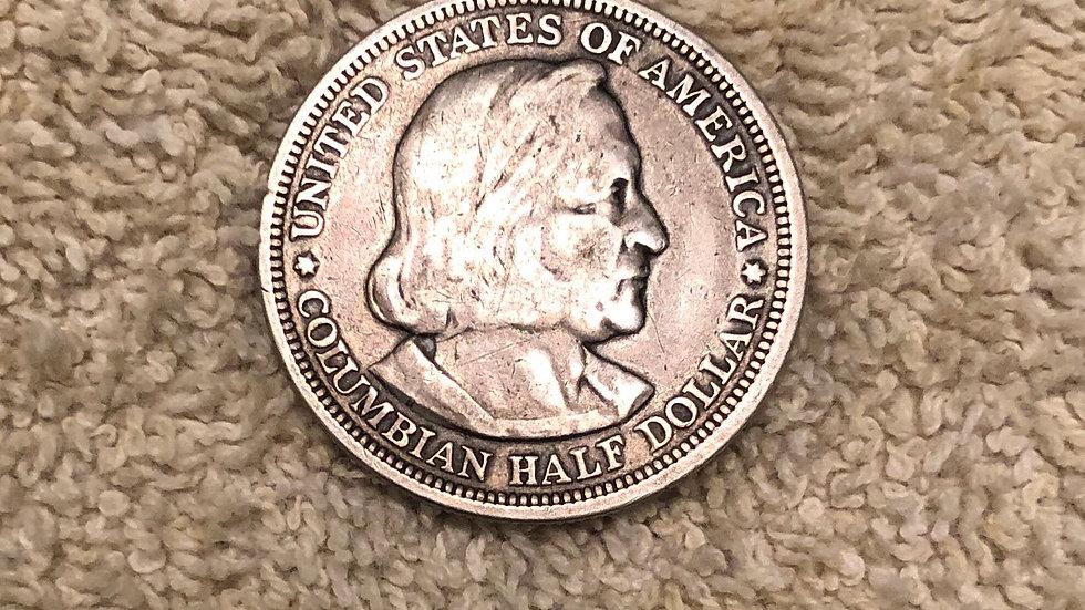 1893 US Half dollar Columbian Exposition